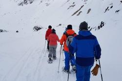 17 December 2017 - Raquettes/snowshoes et alpin/downhill