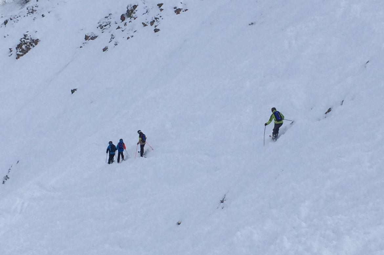 Skiez hors piste - avec nous